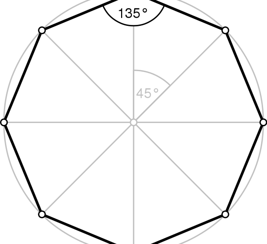 正八 角形 角度